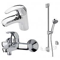 Oras Набор смесителей для ванны и раковины Oras Polara 1496