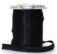 Лента для окантовки/бейка 1,5 см, черная