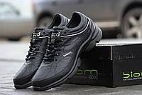 Зимне кроссовки ECCO зимняя обувь мужская черные