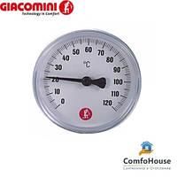 "Термометр Giacomini R540Y002 3/8"" (0-120°C, Ø40 мм)"