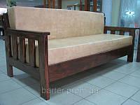 Диван деревянный