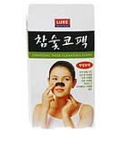 Пластырь для чистки пор носа LUKE Charcoal Nose Cleansing Strip