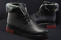 Кожаные женские зимние ботинки Венгрия