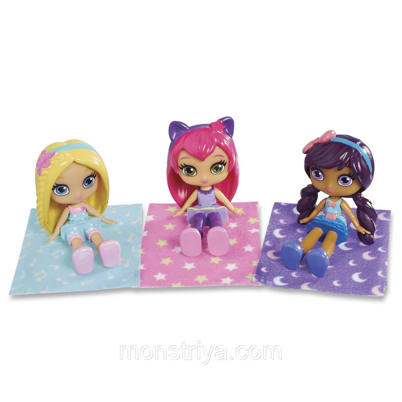 "Набор из 3 кукол ""Литтл Чармес"" - Пижамная вечеринка Little Charmers"