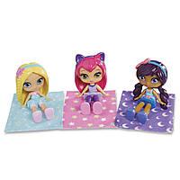 "Набор из 3 кукол ""Литтл Чармес"" - Пижамная вечеринка Little Charmers , фото 1"