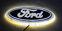 Эмблема форд, светящаяся задняя эмблема Ford 4D