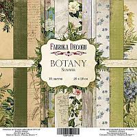 """Набор скрапбумаги """"Botany summer"""", 20 Х 20 см"""