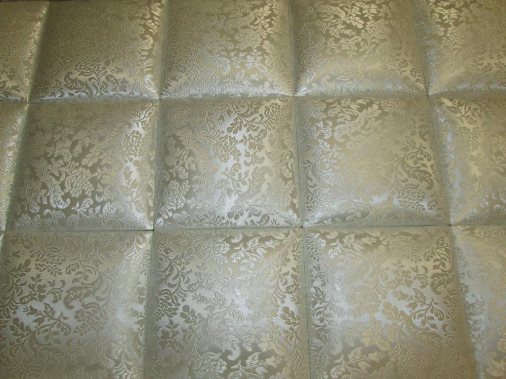 Мягкие стеновые панели в форме кубиков (квадратов)