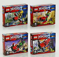 """Конструктор """"Ninja"""" """"LEBQ"""" 1763 4в коробка"""