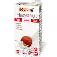 Органическое растительное молоко из фундука без сахара, 1л, EcoMil (8428532230146)