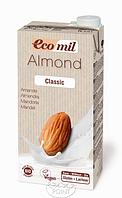 Органическое растительное молоко из миндаля класическое, 1 л, EcoMil (8428532230153)