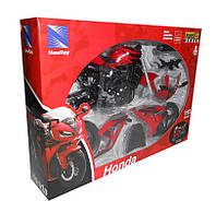 Мотоцикл метал  Welly 43145  1:12 Honda