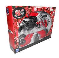 Мотоцикл метал  Welly 57145A  1:12 Ducati 1198
