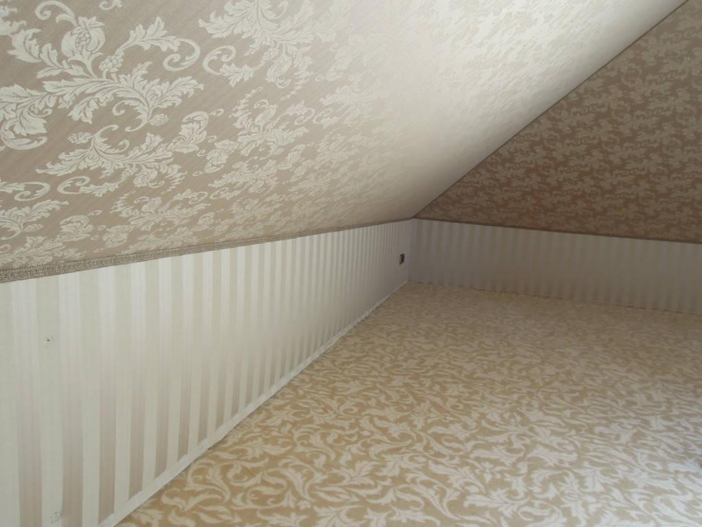 Обивка (драпировка, декорирование) стен тканью