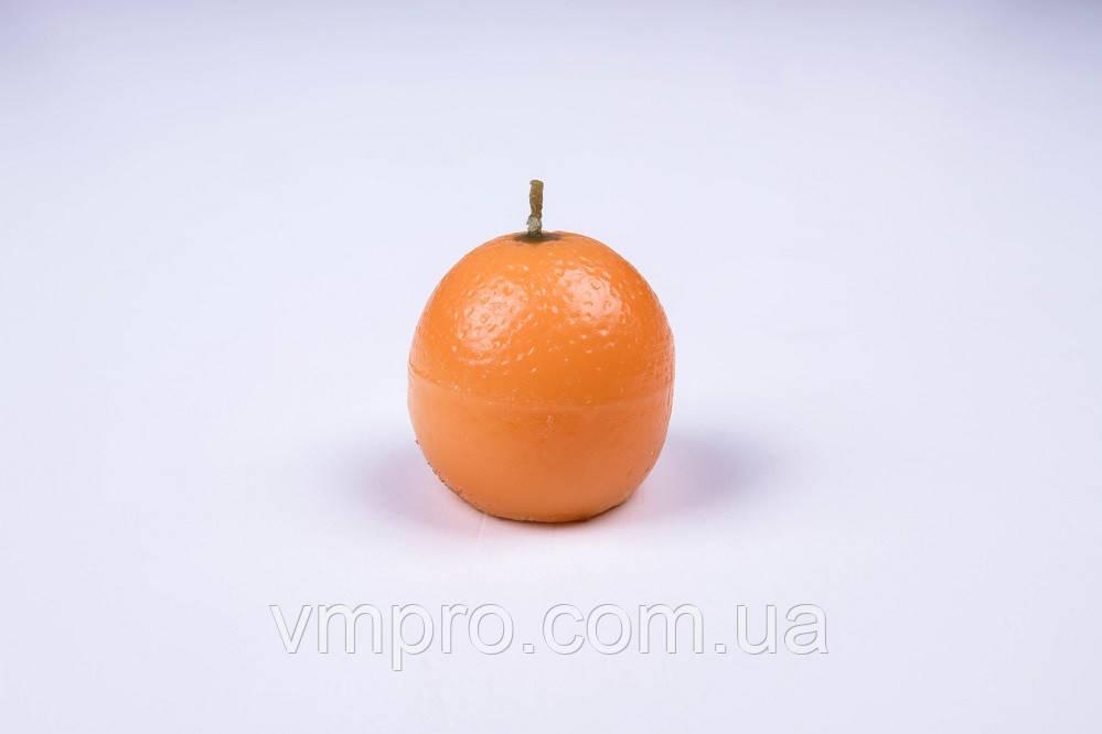 Свечи декоративные фрукты АПЕЛЬСИН, 12 шт/упаковка