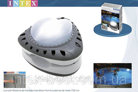 Лампа светодиодная для подсветки бассейна, 220V INTEX 56688 (28688), фото 2