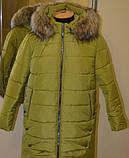 Женская зимняя куртка (рр. 54-60), фото 3