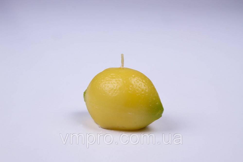 Свечи декоративные фрукты ЛИМОН, 12 шт/упаковка