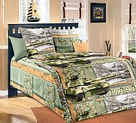 Постельное белье в кроватку Танки (бязь ГОСТ)