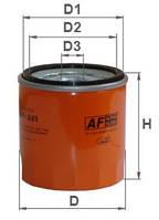 Фильтр масляный AF 261 DAEWOO / CHEVROLET (GM) OPEL ( W712/22 OP570 OC90 М-002 WL7129 SM105)