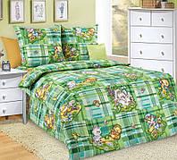Постельное белье в кроватку Затейники (бязь ГОСТ)