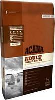 Acana ADULT LARGE BREED Heritage Formula (АКАНА Эдалт Ладж Брид) - корм для собак крупных пород, 17кг