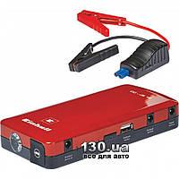 Автономное пуско-зарядное устройство Einhell CC-JS 12 (12 Ач, 12 В, старт до 400 А) с USB (5 В / 2 А