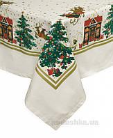 Скатерть Новогодняя сказка Прованс 142х142 см