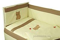 Спальный комплект для детской кроватки Руно 977 Рыжик