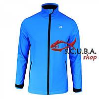 Спортивная мембранная мужская куртка Radical Crag, водонепроницаемая, цвет голубой
