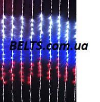 Новогодняя гирлянда Водопад 480 LED размер 3*2 (Мультицвет)