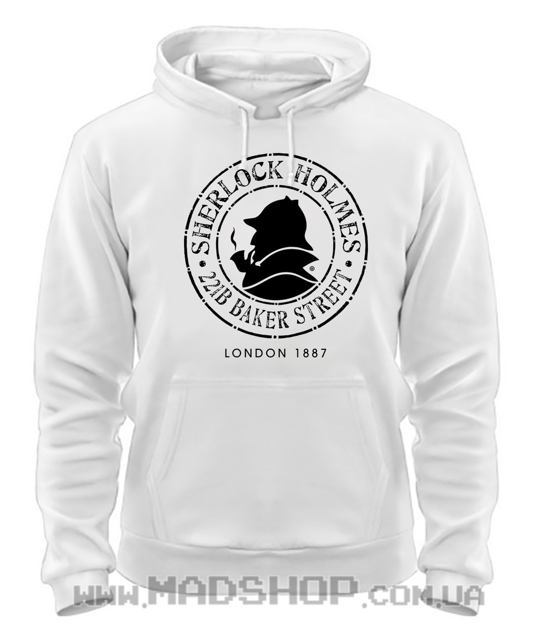 Толстовка Шерлок Sherlock лого