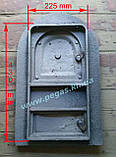 Дверка чугунная печная, печи, грубу, барбекю, мангал (325х515 мм), фото 2