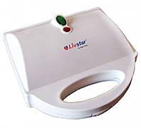 Livstar 1216. Аппарат для приготовления корн-догов, на три сосиски, антипригарное покрытие. Готовим хот дог