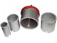 Вольфрамовые коронки 33-83мм для сверления кафеля и плитки Vorel 03301