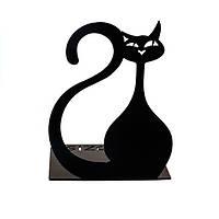 Упоры для книг Черный кот