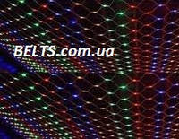 Новогодняя гирлянда сетка 260 LED (сетка-гирлянда размер 2*2м), фото 1