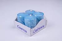 Свечи столбы интерьерные малые 40 × 60, 8 часов, 4 шт/упаковка