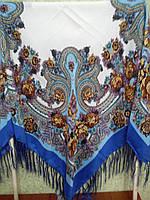 Платок F УКРАИНСКИЙ БОЛЬШ.(120х120)