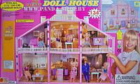 Домик для кукол Барби Doll House 134 детали 6 комнат 2 этажа артикул 97, фото 1