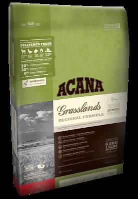 Acana GRASSLANDS CAT 340 r - корм для котят и кошек всех пород (ягненок/утка)