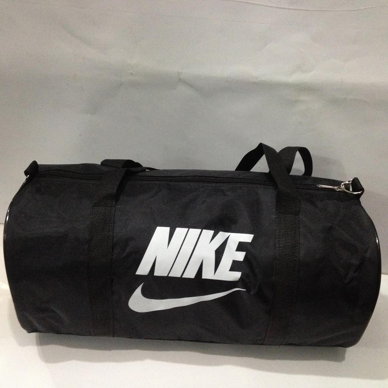 3749ae45 Спортивная дорожная сумка Nike черная белая оптом : продажа, цена в ...