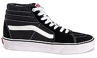 Кеды мужские Vans Sk8 (black/white) - 86z