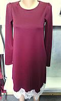 Модное женское платье свободного покроя с карманами