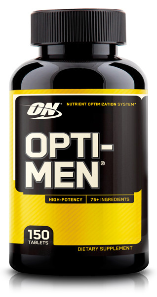 Optimum Nutrition Opti Men 150 caps оптимум нутришн опти мен