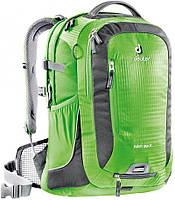 """Функциональный бизнес-рюкзак для велосипедистов GIGA BIKE для ноутбука 17"""" DEUTER, 80444 2431 зеленый"""