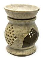 Аромалампа из мыльного камня (11х8х8 см)