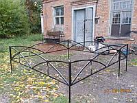 Оградка ритуальная на кладбище