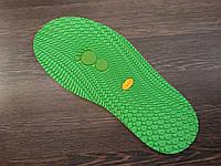 """Подошва  резиновая """"лаваш"""" BISSELL art.111 зеленый"""