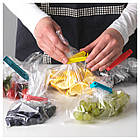 BEVARA Зажим для пакетов,30 штук, разные цвета, различные размеры 103.391.71, фото 2